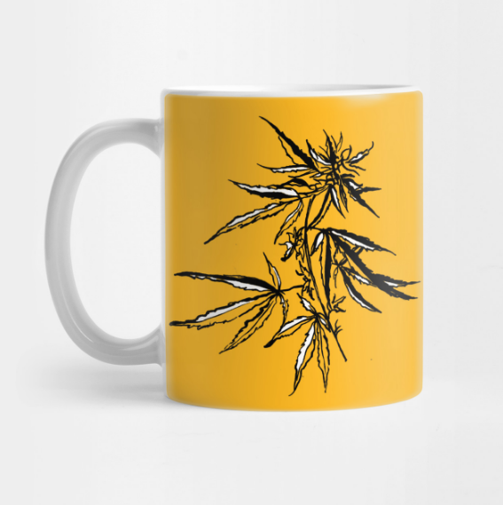 cannabis-illustration-mug-kristen-wiliams-designs