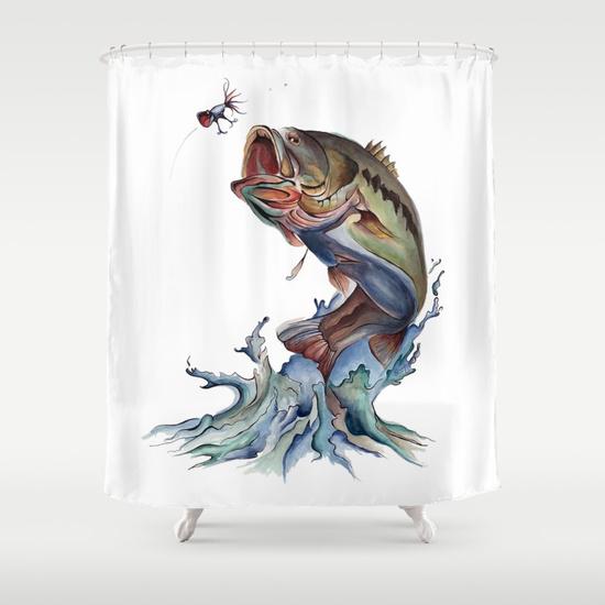 kristen-williams-designs-bass-fish-illustration