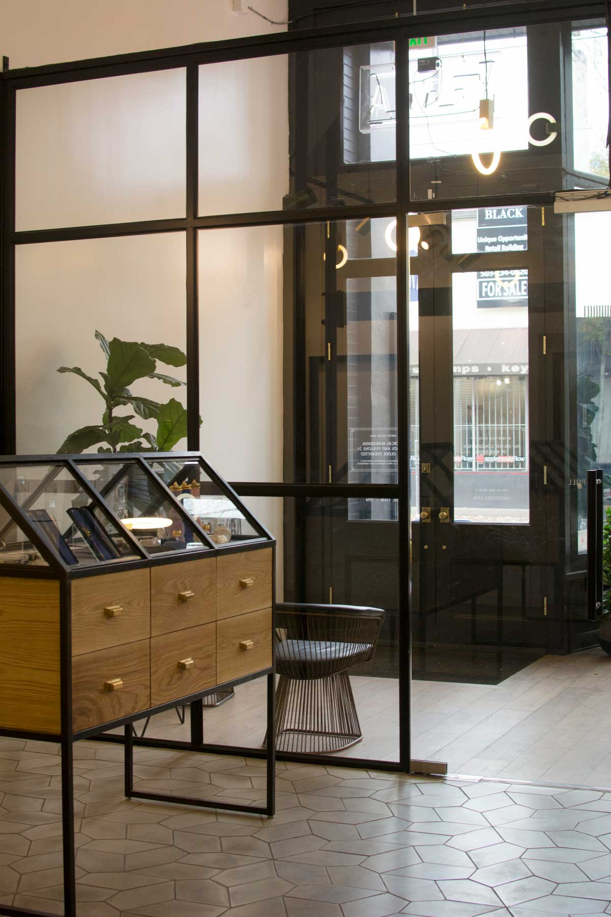 Chic display cases