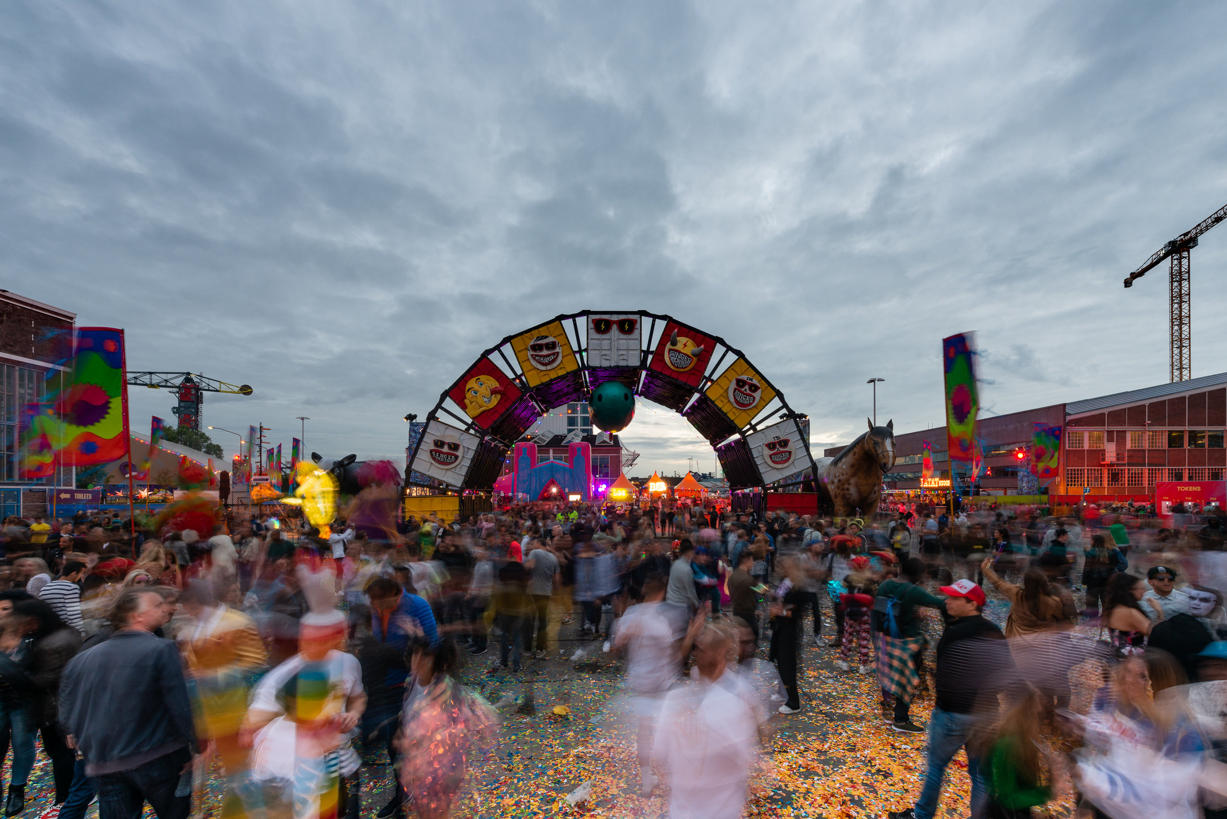Elrow Festival at NDSM