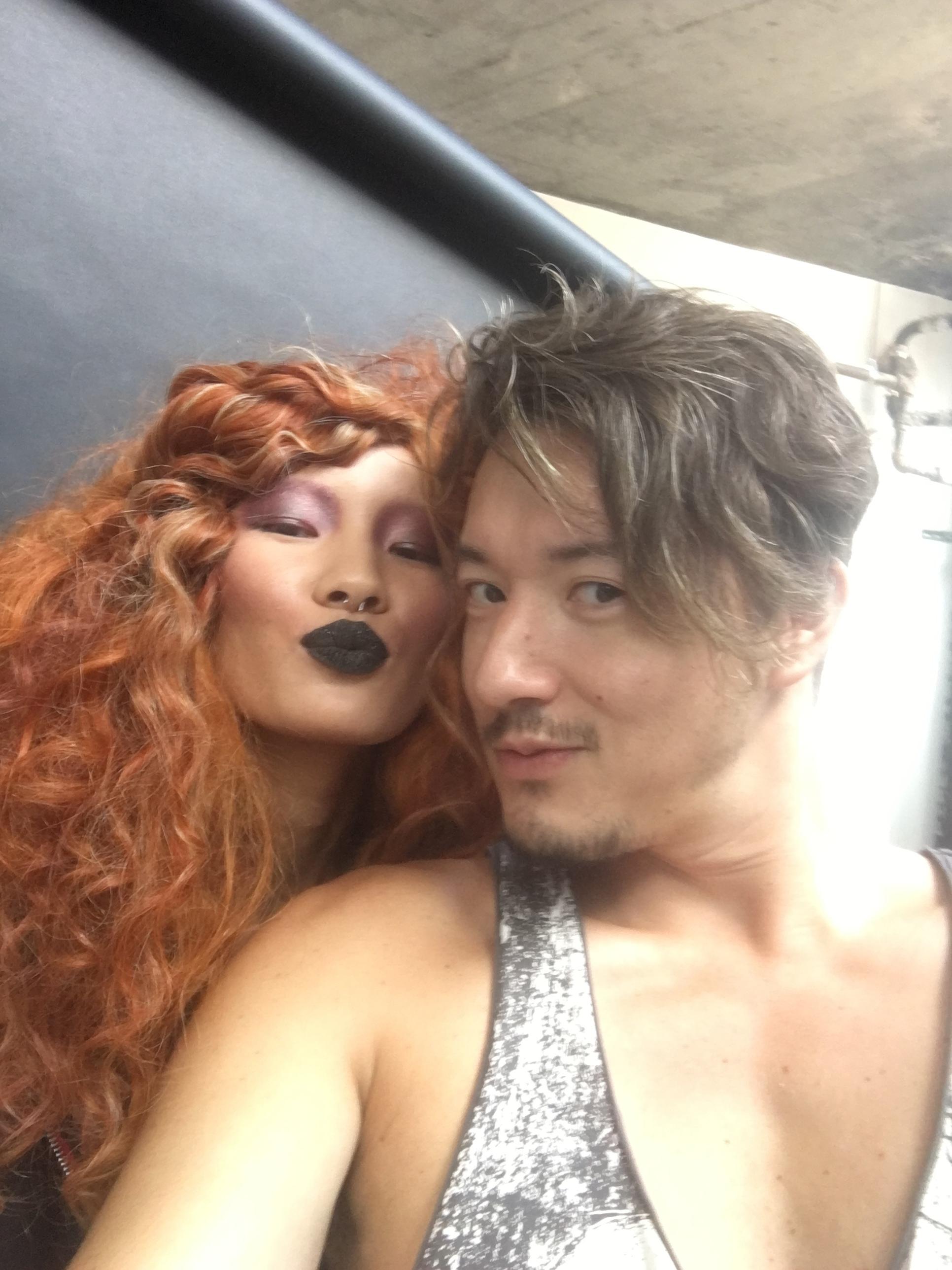 selfie with Mei Li
