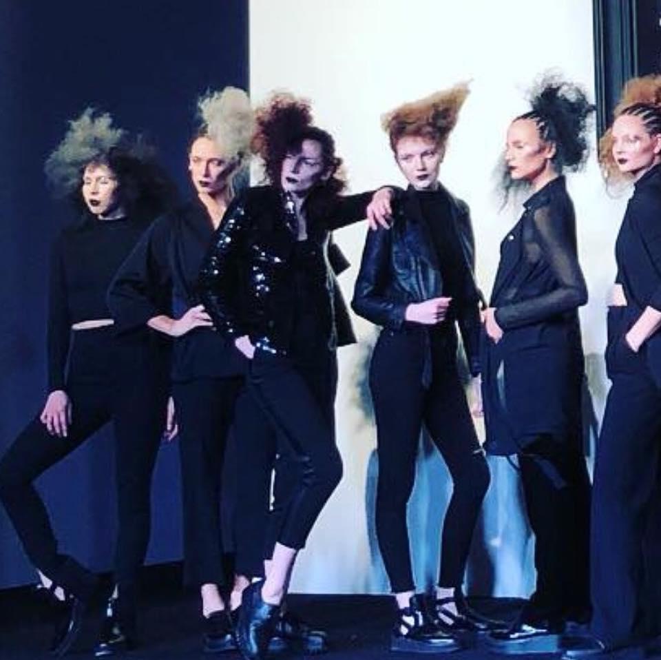 models at grand opening