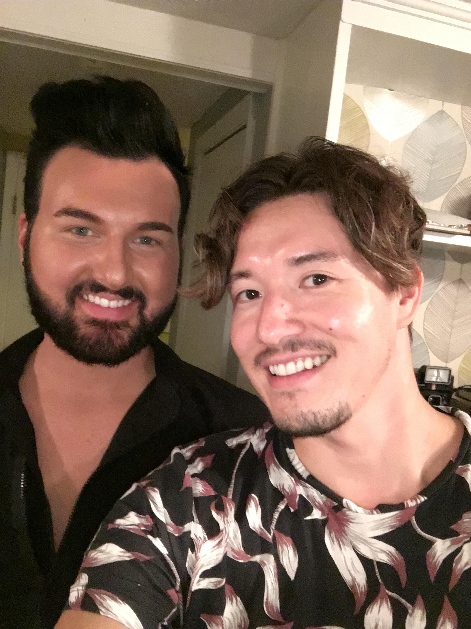 selfie with Caleb