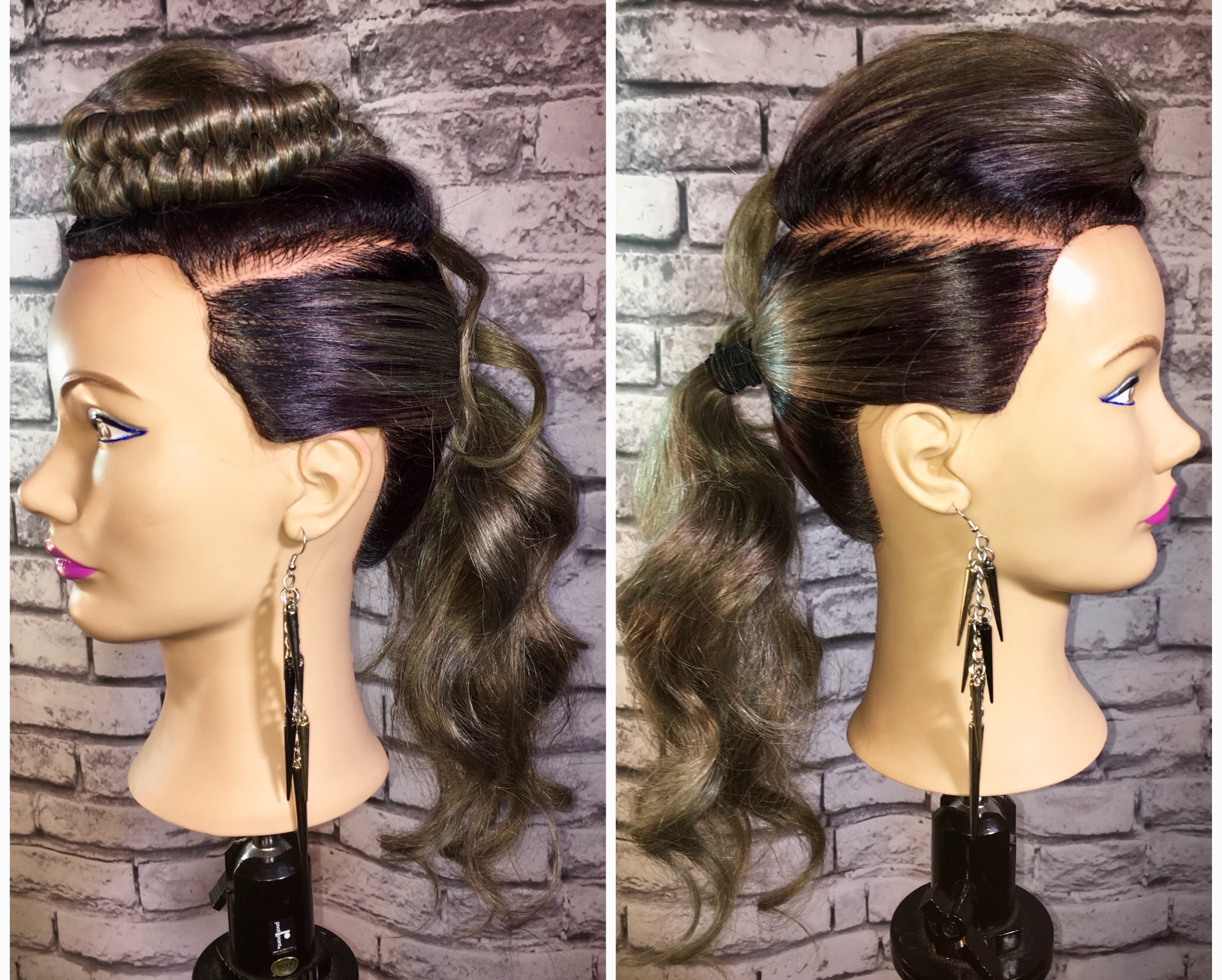 Infinity ponytail