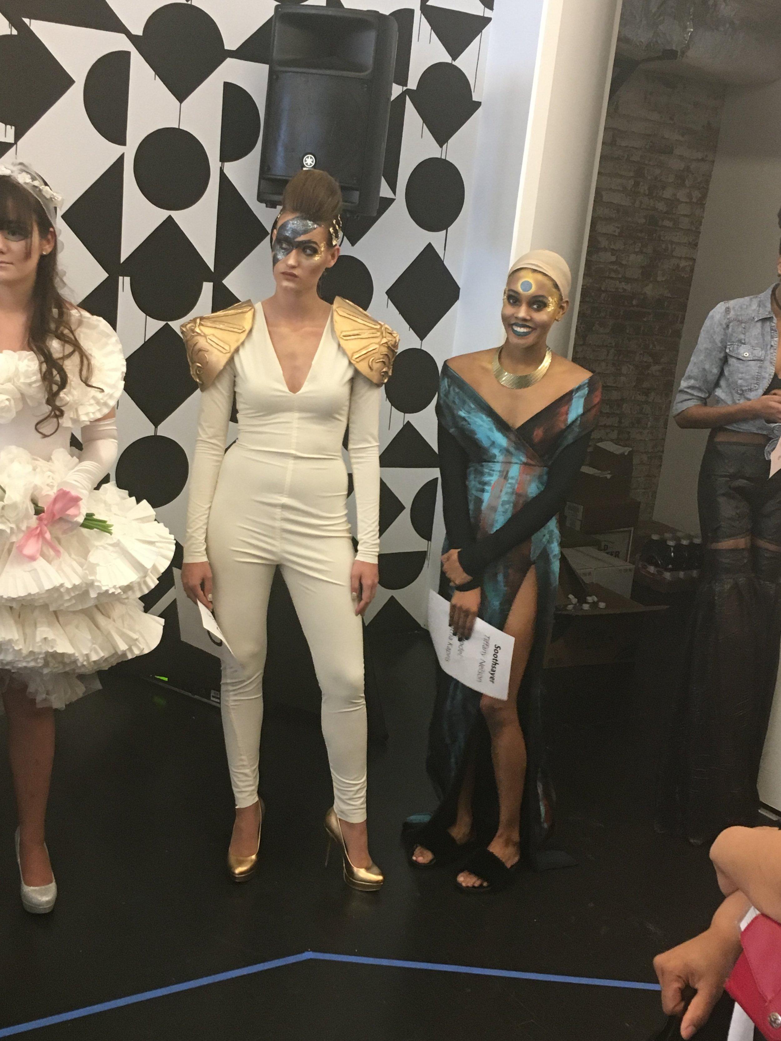runway dress rehearsal