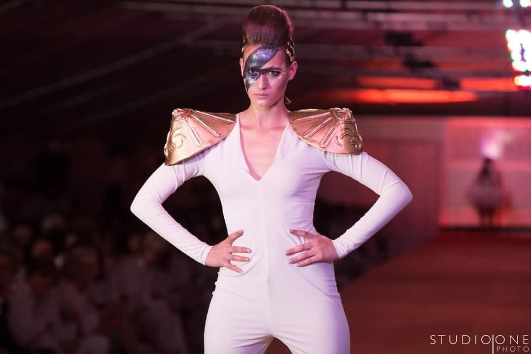 Katya takes the runway by storm. Image by Studio One Photo