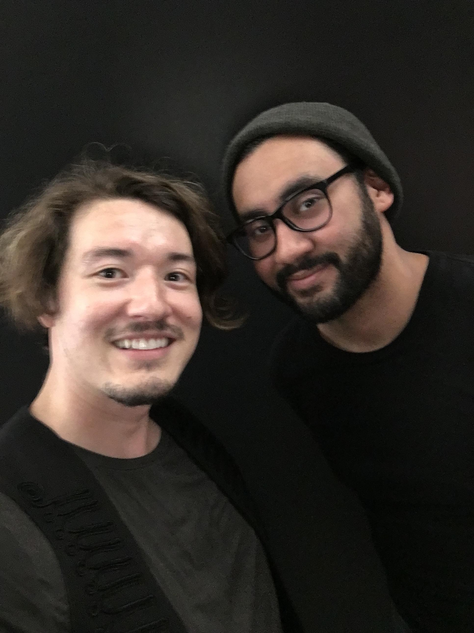 selfie with Joseph