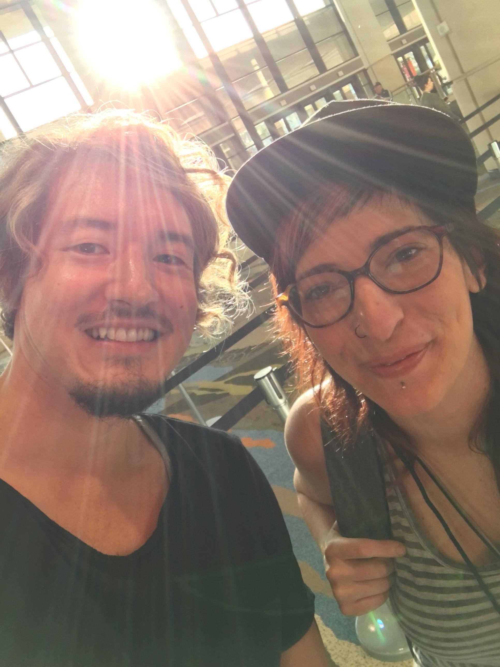 - Selfie with Jamie