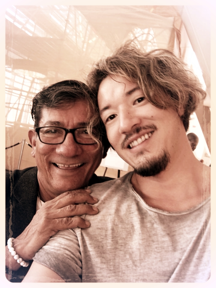 Selfie with Sam Villa