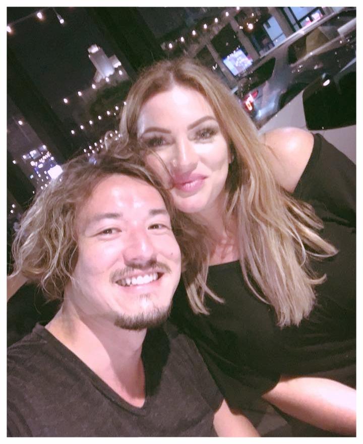 - selfie with Nikki Diedrich