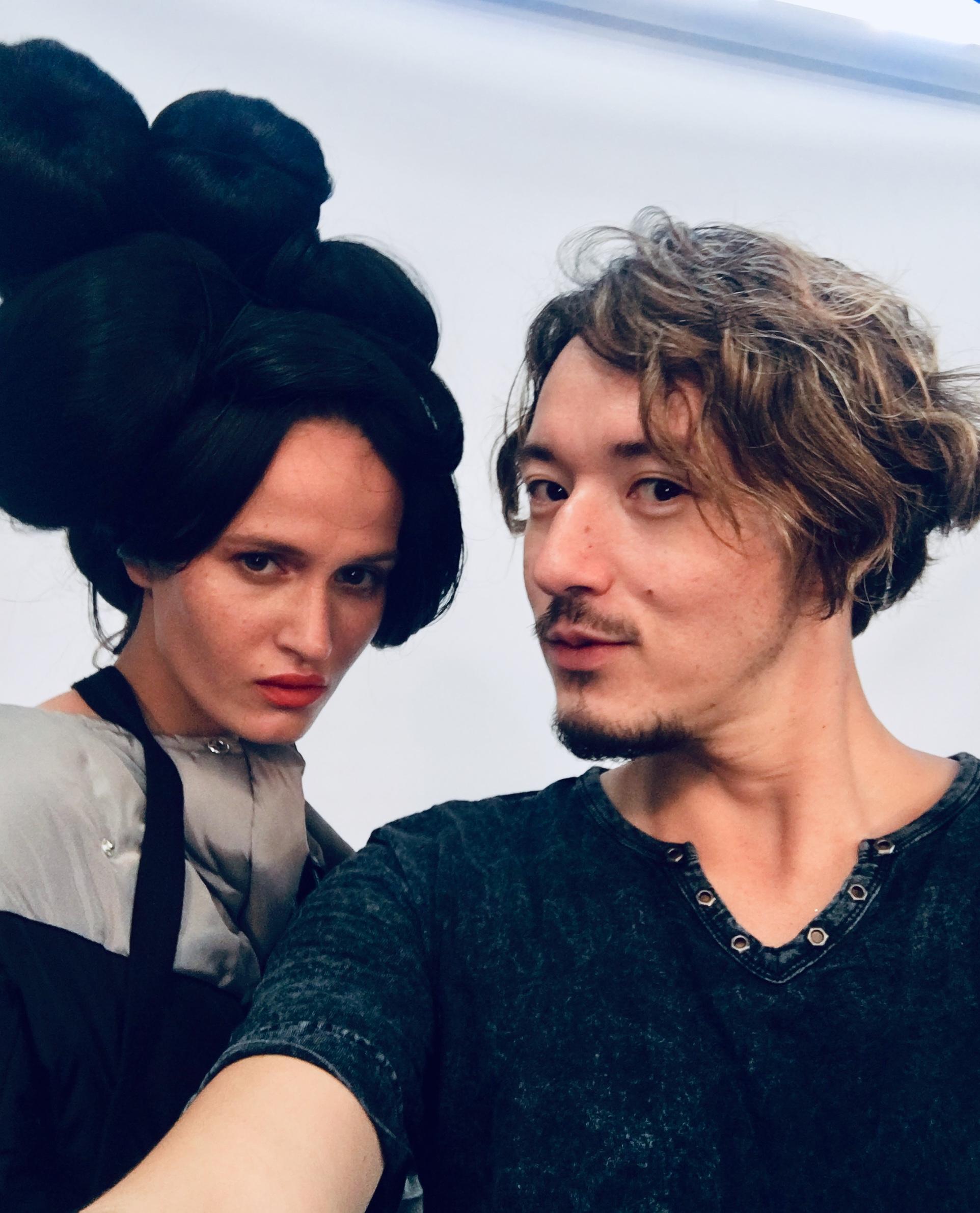 selfie time with Katya