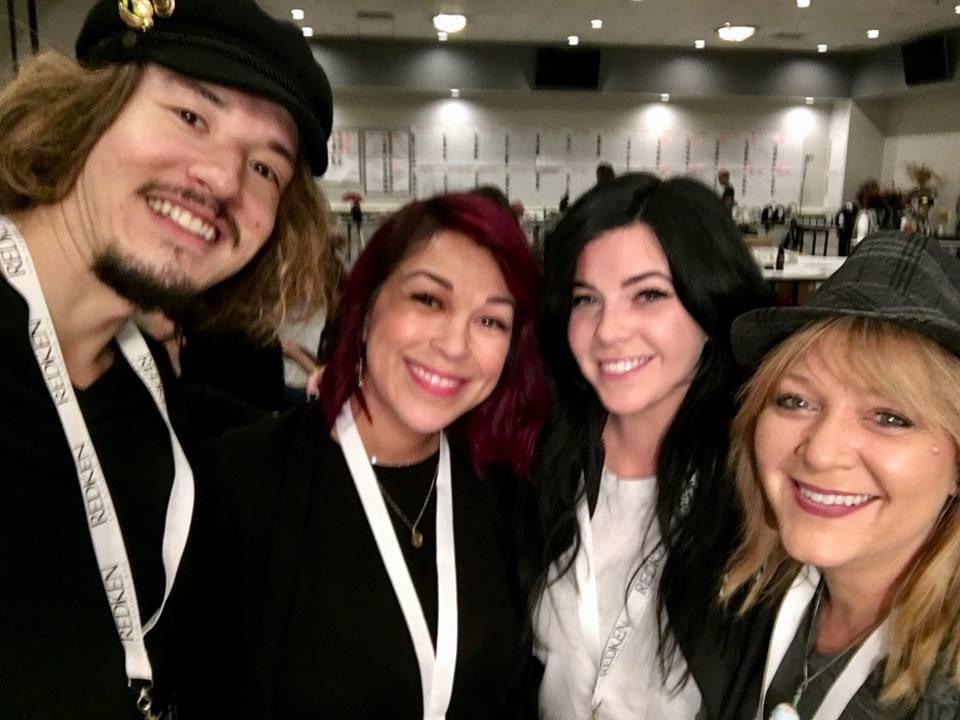 selfie with Zoraida, Ellen and Parnelli