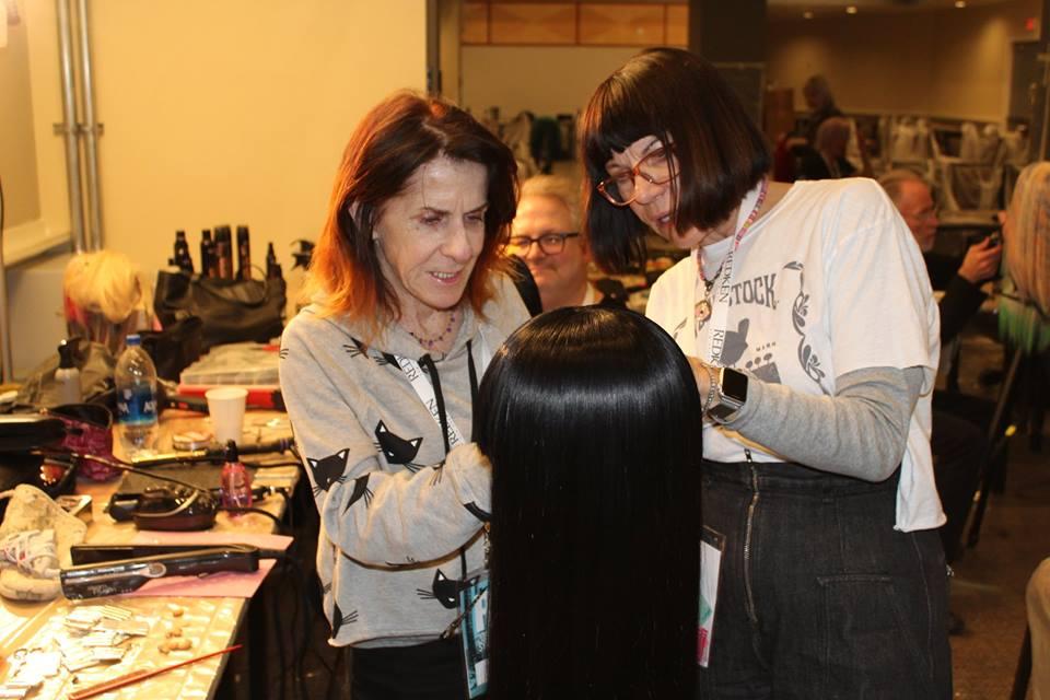 jill and Ellen tackling this look
