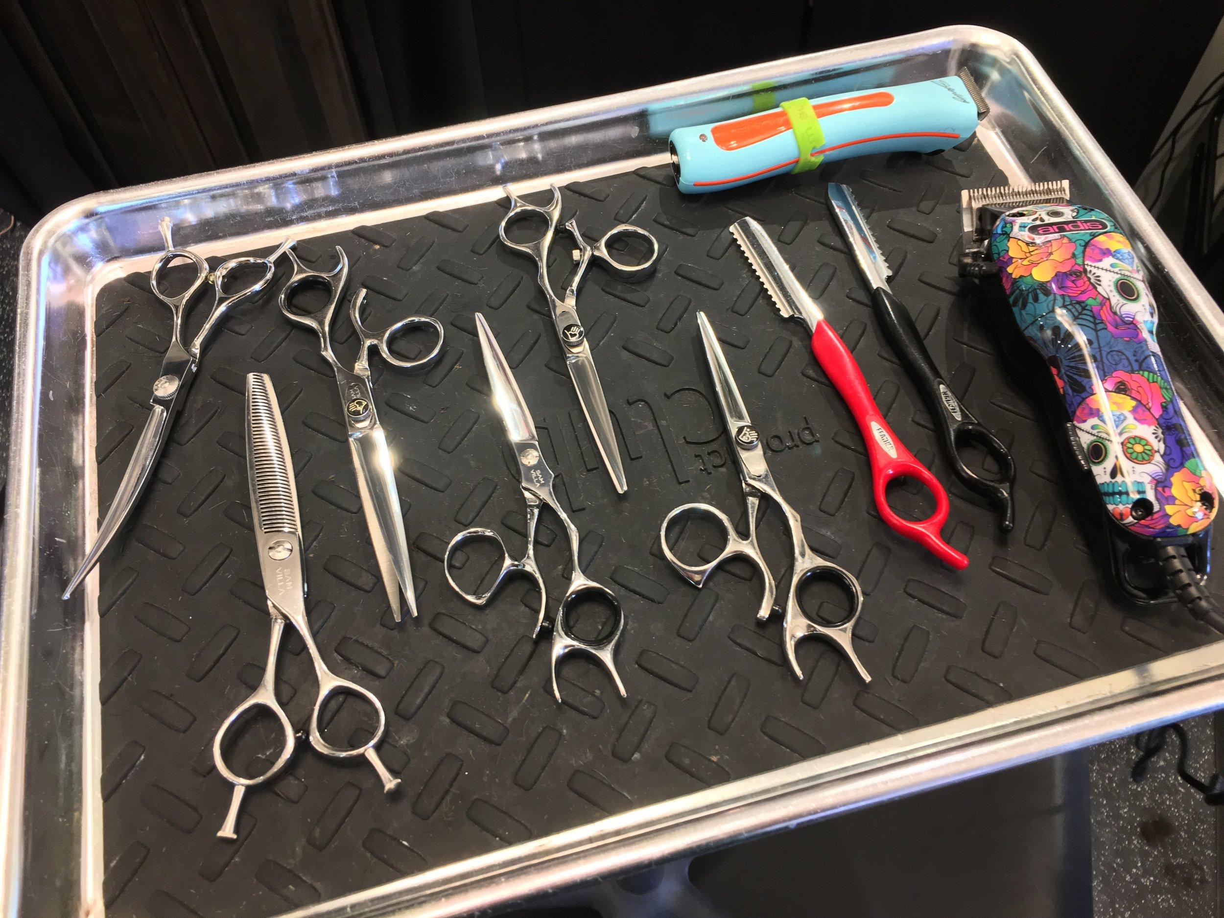 tools of the trade **I love Sam Villa Shears