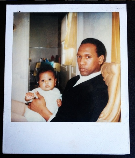 My Dad and I when I was just under 1 years old.
