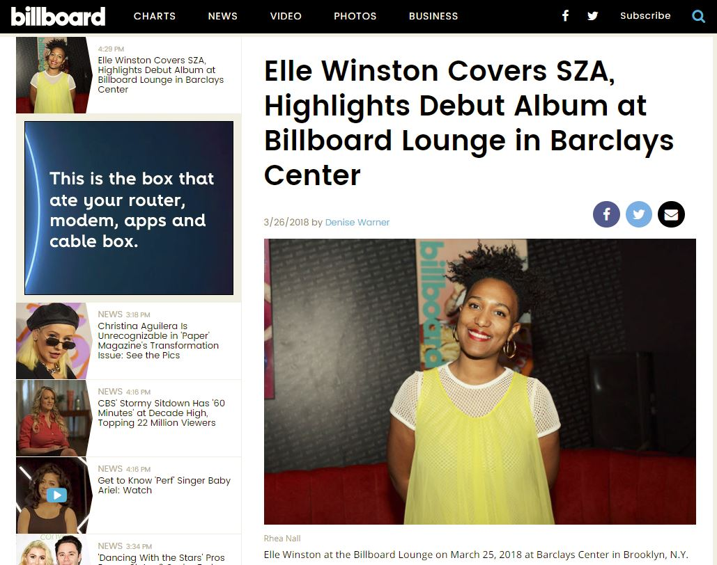 Also s/o to Billboard for this amazing write-up! -
