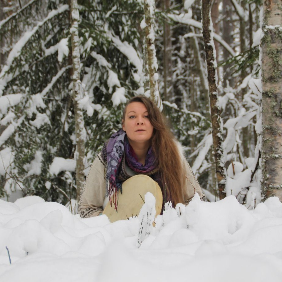 FINNO-UGRICMYTHOLOGY - FINNO-UGRIC MYTHOLOGY AND WORLD VIEWWITH DALVA LAMMINMÄKI (FINLAND)The Finno-Ugric peoples of Northeast Europe, North Asia and the Carpathian Basin who speak languages of the Finno-Ugric group, Finns, Karelians, Estonians, Hungarians, and several others, share an ancient past rooted in a common mythology and worldview. Dalva Lamminmaki, carrier of the myths and traditional teachings of Karelia & Finland will weave together her knowledge of this particular worldview, shamanic tradition, the Kalevala, and folk healing in this workshop. Be awash in story and sound, as you let the old ways of these people and the sound of their drum fall upon your ears.