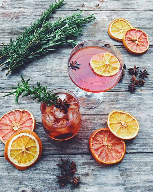 A negroni is pretty perfect in its classic format, but this   star-anise infused one   did not disappoint us [ Imbibe Magazine ].