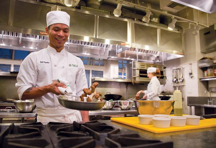 Chefs in Training at NGI