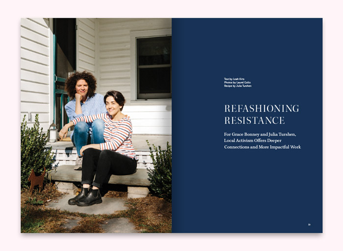 """Refashioning Resistance"" by Leah Kirts, photos by Laurel Golio"