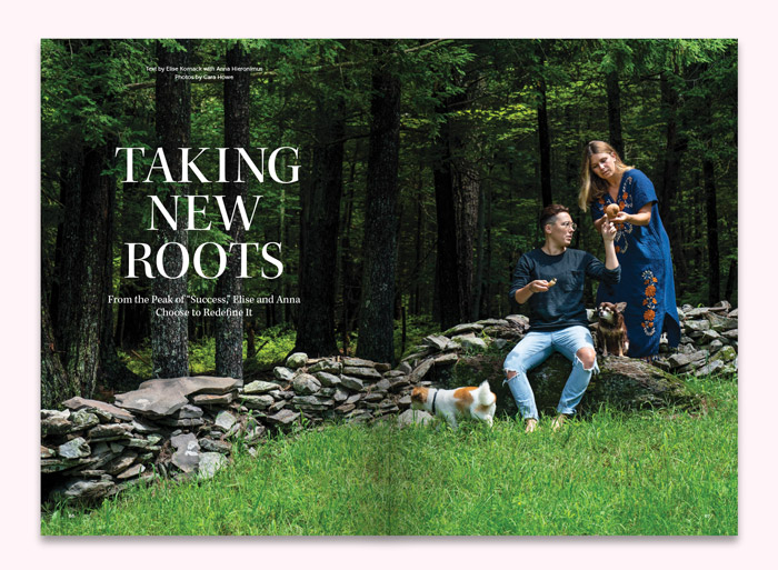 Taking New Roots  by Elise Kornack with Anna Hieronimus photos by Cara Howe