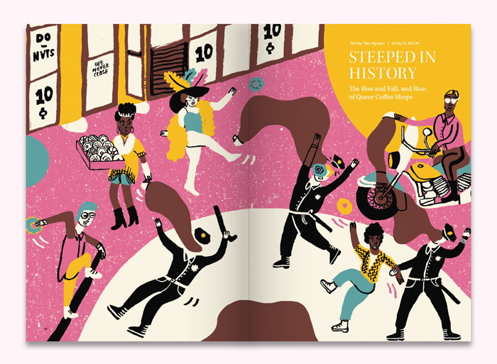 Steeped in History  by Tien Nguyen, Art by EL BOUM