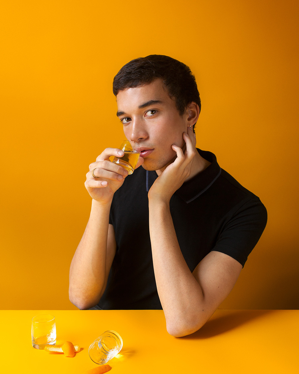 Ruben Colindres    @ruweng       Occupation:  Biochemistry Student, Model   Wellness in a word:  Contentedness