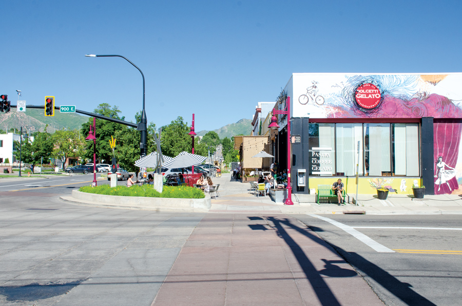 in 2016, Salt Lake City voted to name a twenty-block stretch of 900 S Street Harvey Milk Boulevard. It's a hub for the city's gay-owned businesses.