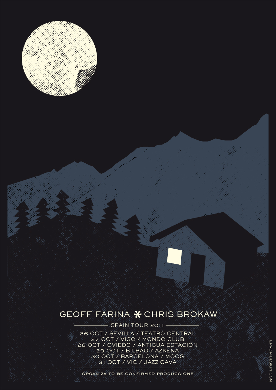 Spain Farina/Brokaw poster