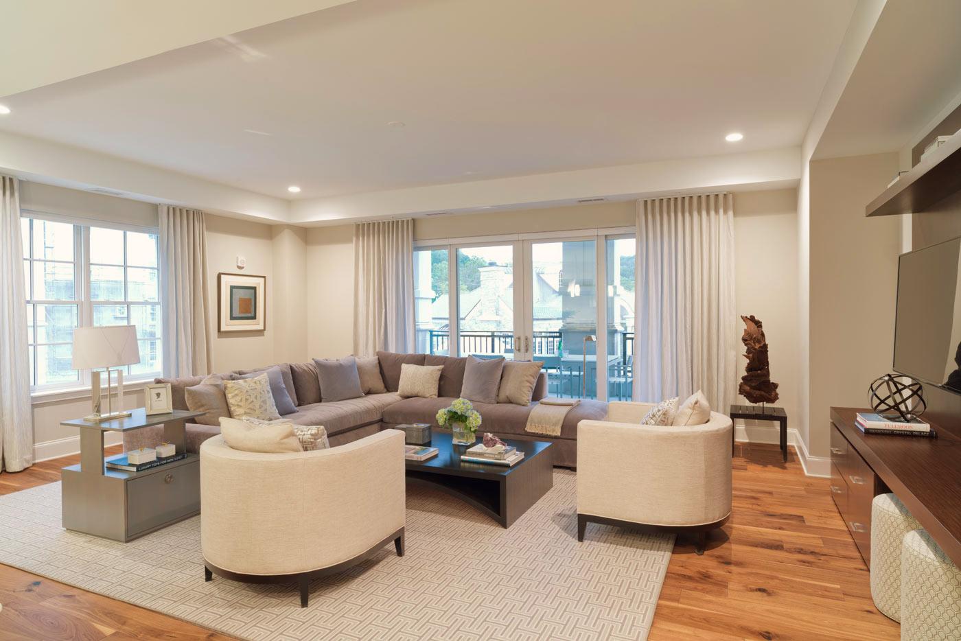 Quarry Springs Residence Living Room