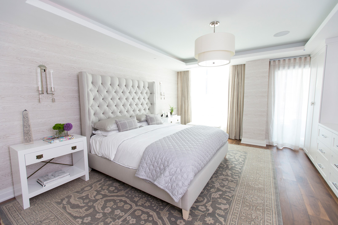 The Lauren Residences Bedrooms Provide a Balance of Light and Warmth • Image Provided by The Lauren Residences / ADG