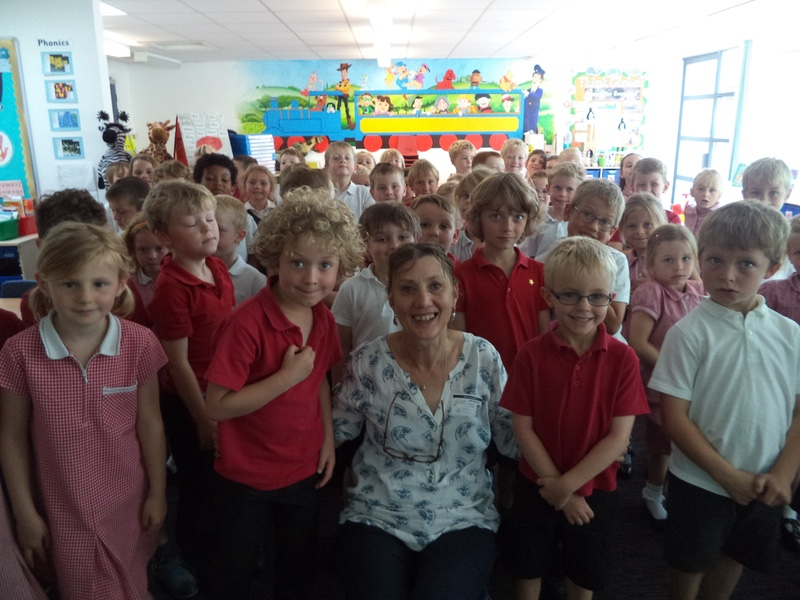 Here I am at Brookside school in Street, Somerset