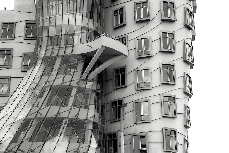 the dancing house  Prague : Czech Republic2013