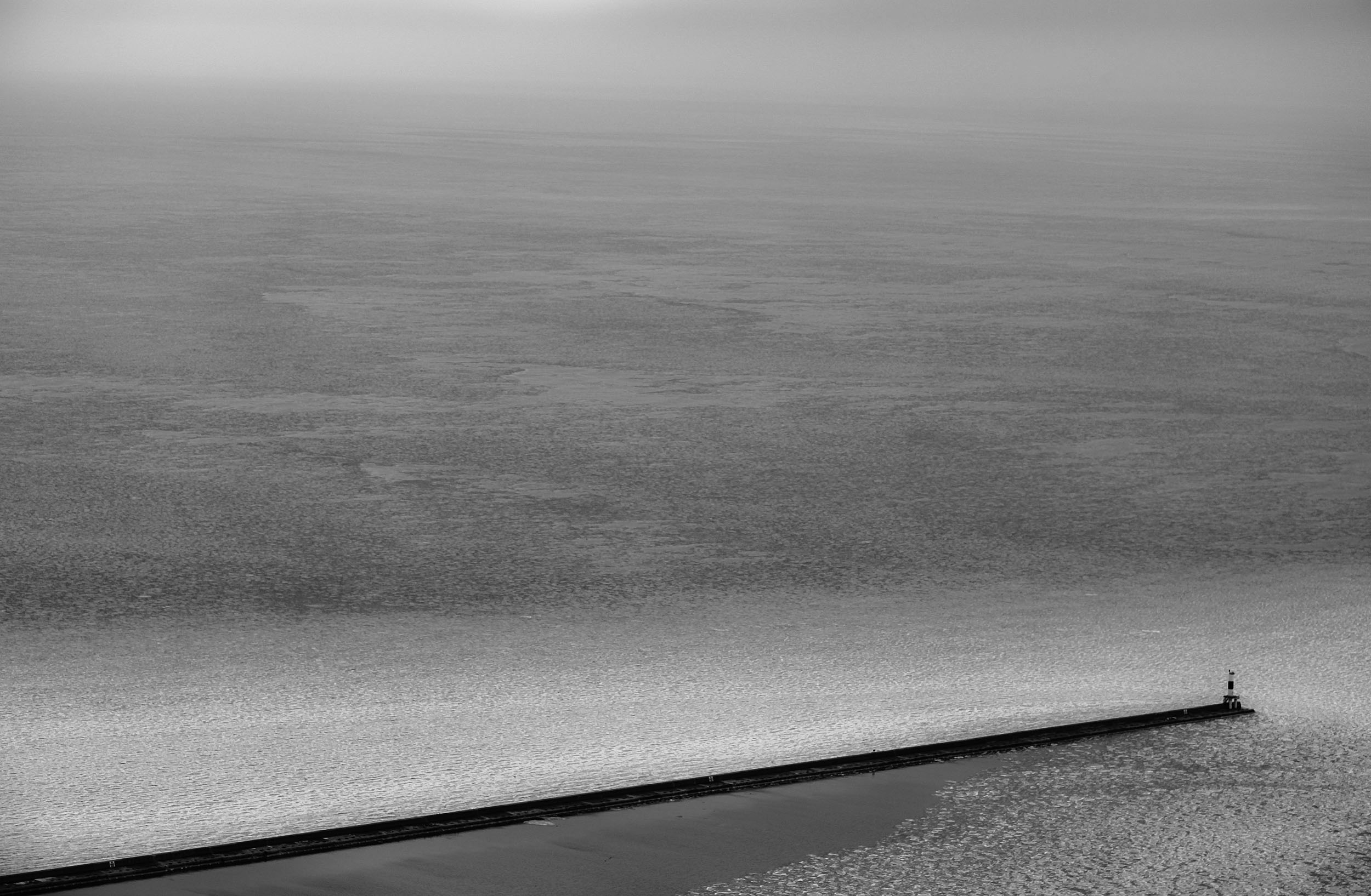 all the places in between no. 05   from the series, an architect's dream  Lake Michigan, 2009-2019