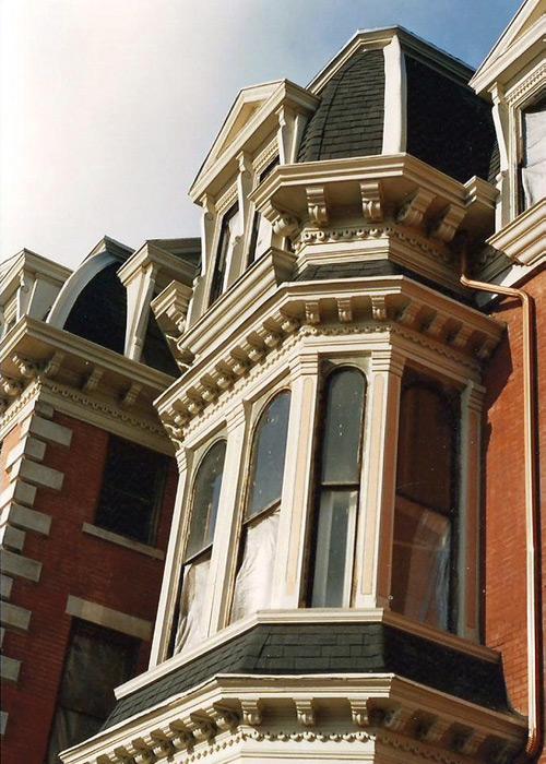 Exterior Restoration: After