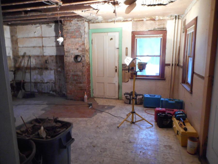 Kitchen Renovation - Before