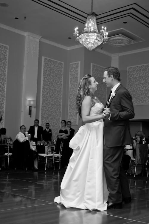 First Dance at Sheraton Gunter Hotel - San Antonio Wedding Photographer