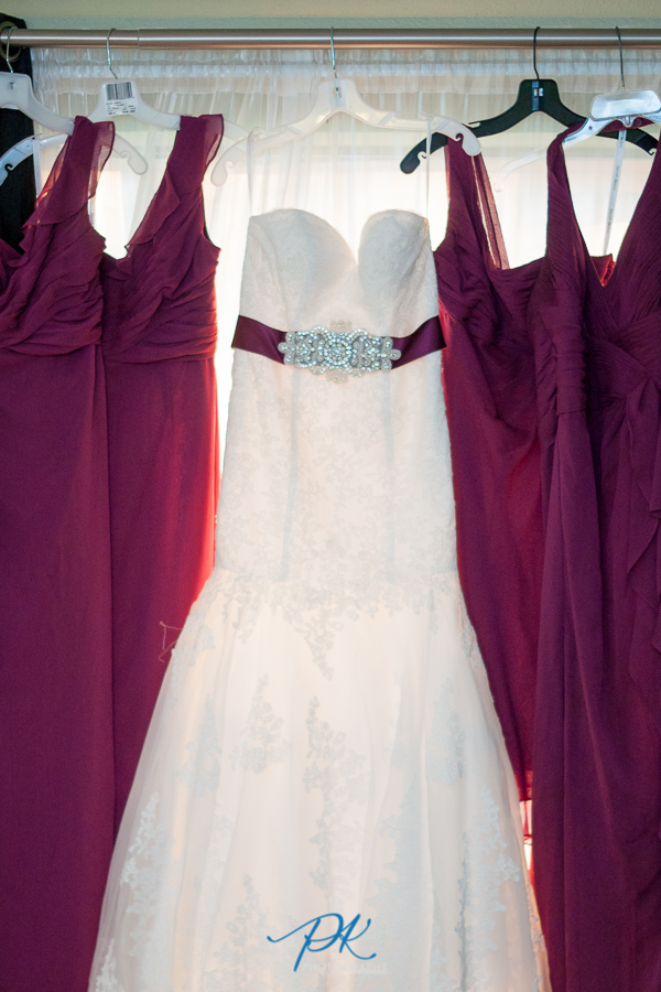 Bride and Bridesmaids Dresses - San Antonio Wedding Photographer