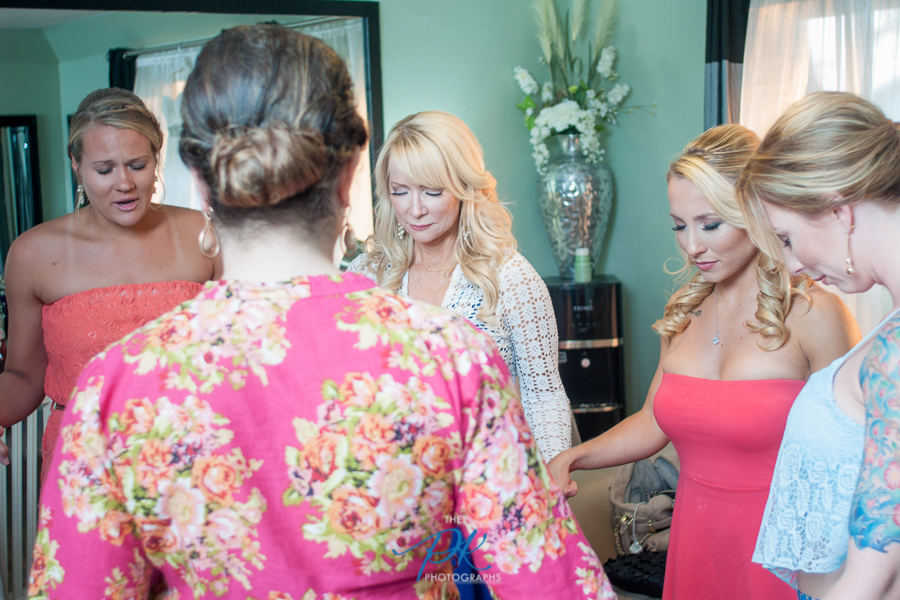 Pre-Wedding Prayer -San Antonio Wedding Photographer