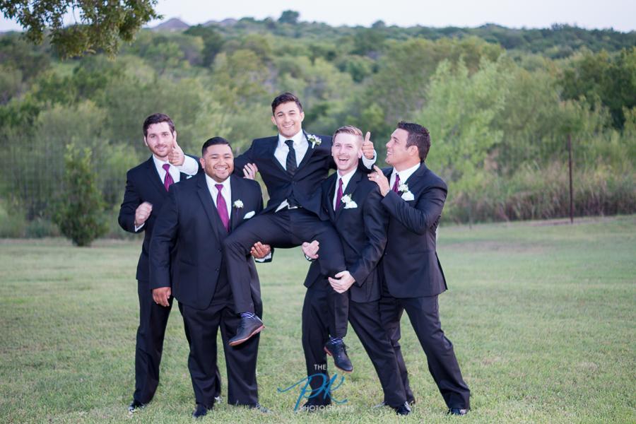 Goofy Groomsmen - San Antonio Wedding Photographer