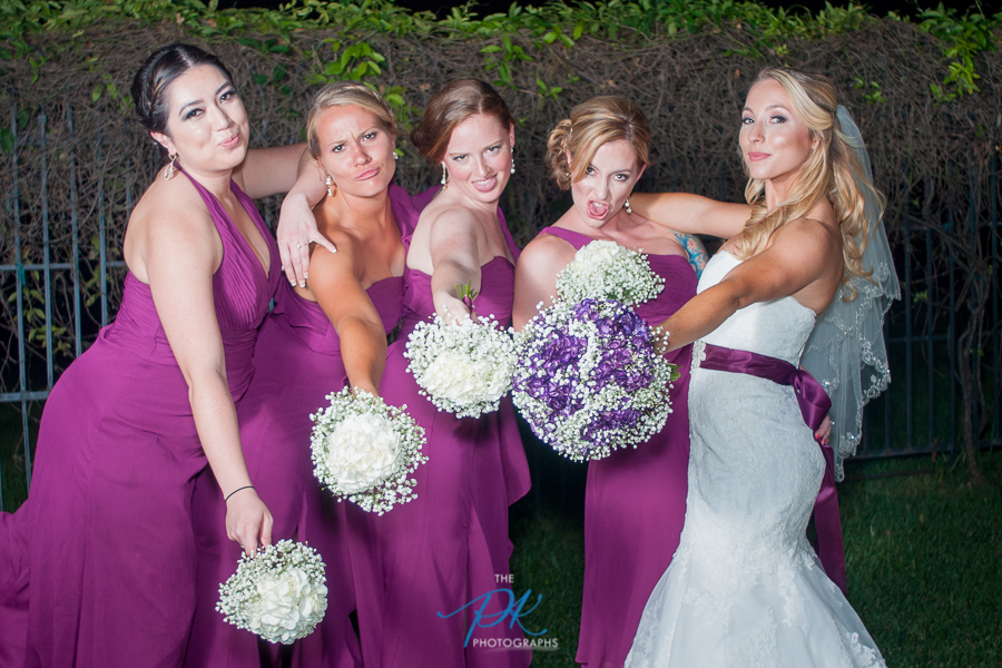 Goofy Bridesmaids - San Antonio Wedding Photographer