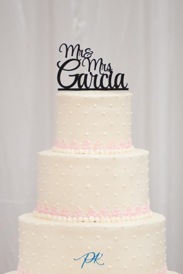 Personalized Cake Topper - San Antonio Wedding Photographer