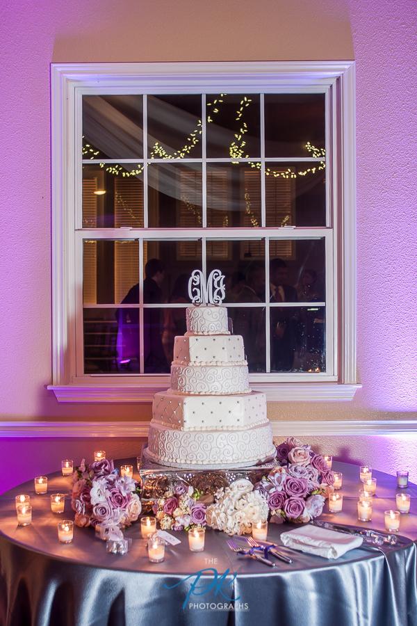Cake Table at Wedding - San Antonio Wedding Photographer