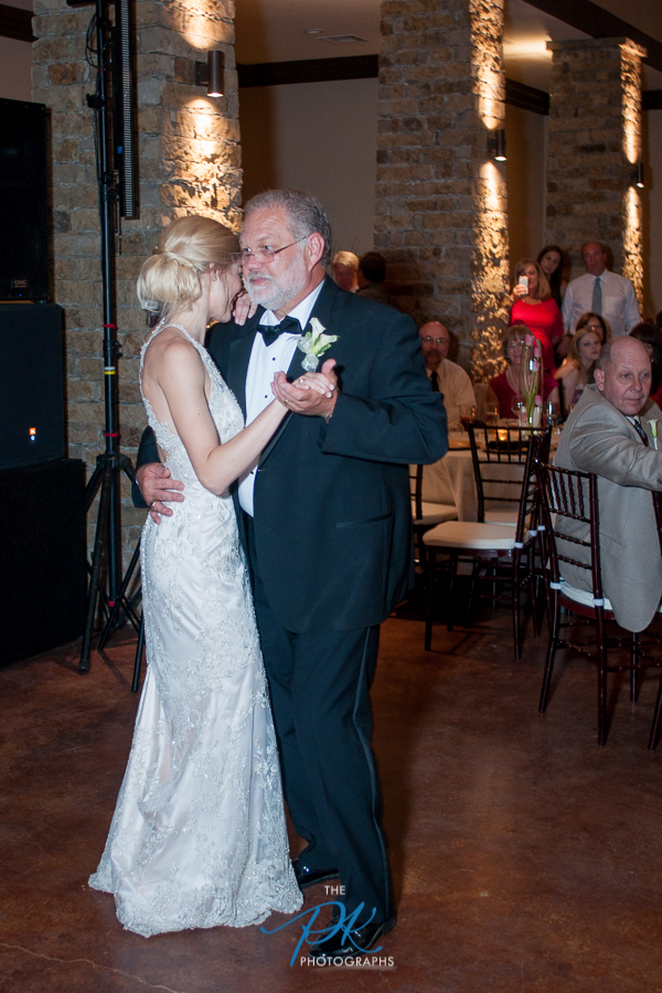 Rachel's dance with her father at her wedding reception.