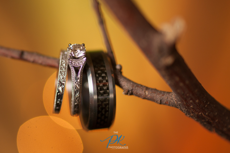 Wedding rings are as unique as every couple, and equally fun to photograph!