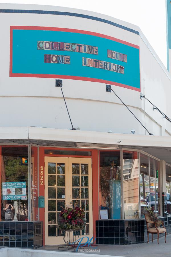 Collective Souls Home Interiors shopfront on San Pedro Ave.in San Antonio