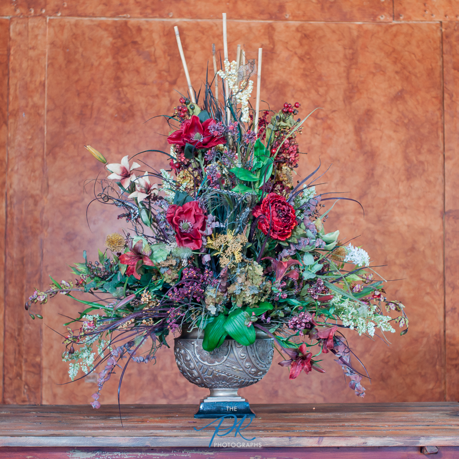 Custom flower arrangements can be ordered, or purchase one of their existing ones.
