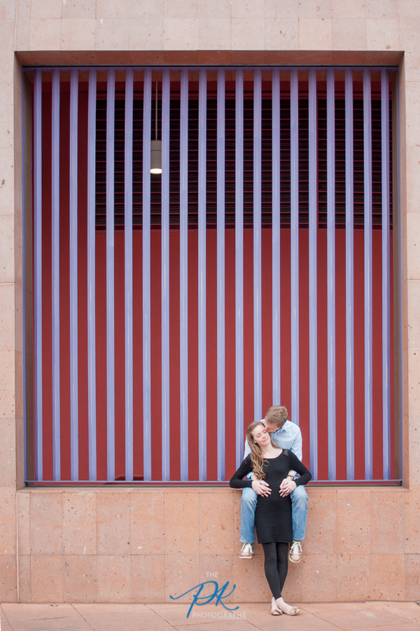 San Antonio Central Library - Engagement and Wedding Photographer