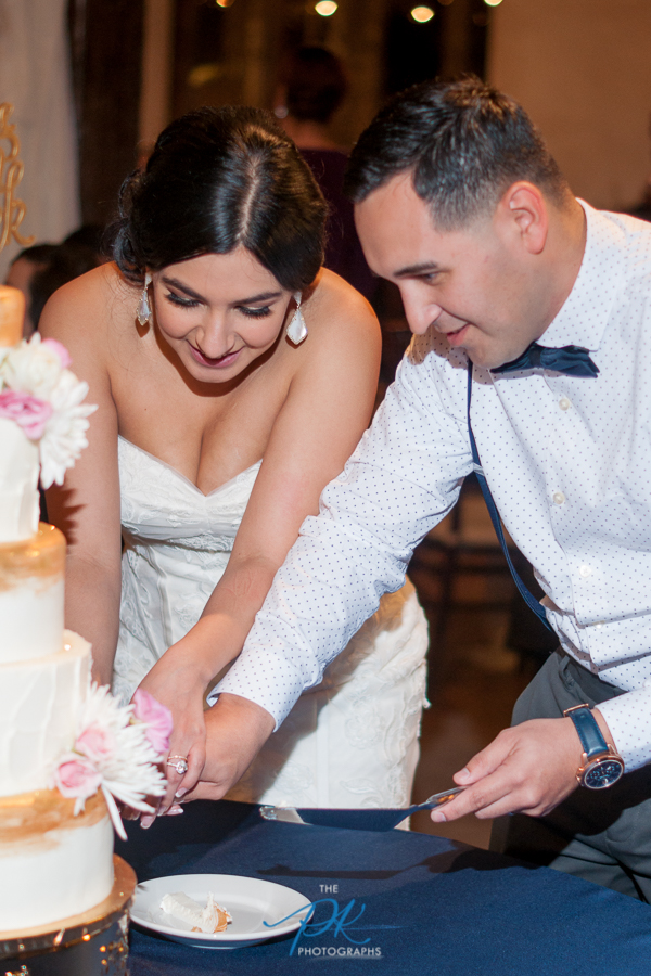 Wedding Cake - San Antonio Wedding Photographer