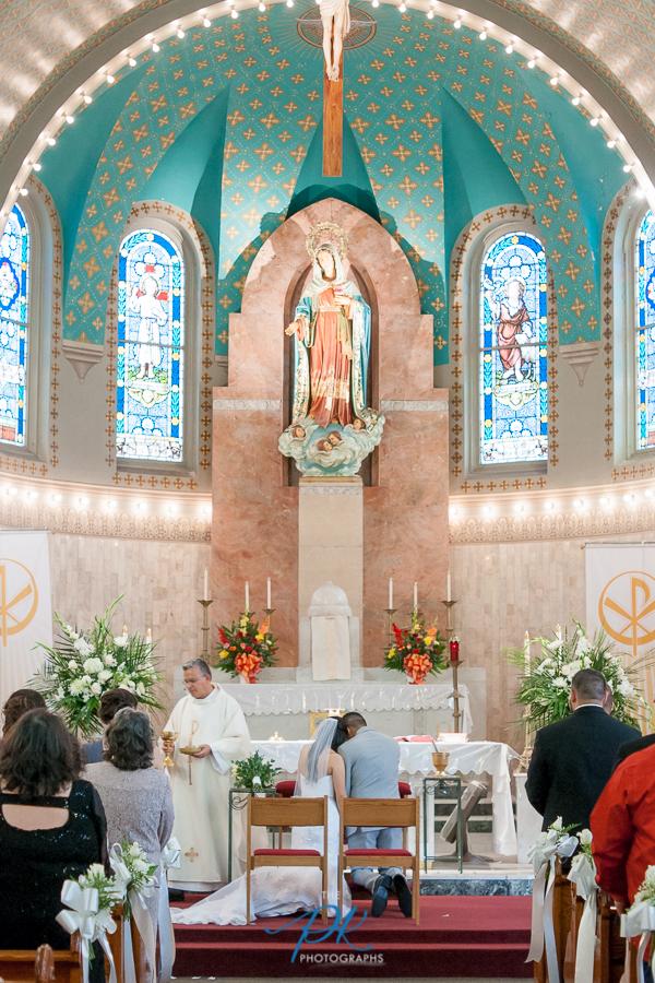 Immaculate Heart Mary Church - San Antonio Wedding Photography